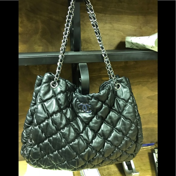 d1fe898b10f07 CHANEL Handbags - Gorgeous Chanel Authentic Black SH XL EUC !